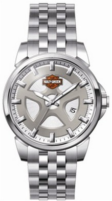 watch mabua harley davidson semarang harley davidson® men s watch by bulova quarz movement luminous hands and markers 50 meter water resistant stainless steel case and bracelet safety
